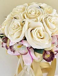 Champagne Color Wedding bouquets