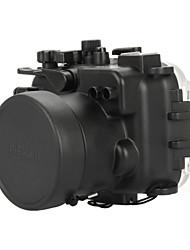 Meikon Underwater Diving Camera Waterproof Cover Case for Panasonic GM1- Black