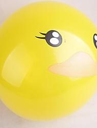 100 piezas de látex boda amarillo globo del partido