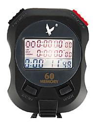 60 1 / 100s souvenirs 3 lignes de compte à rebours 10h&calendrier chronomètre numérique pour saut de sport pc960