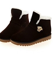 botas bajas cómodas de las mujeres del fashional térmicas