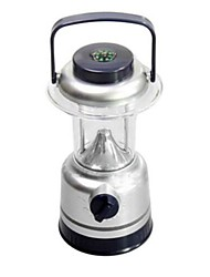 15 LED Ultra Brightness Portable Camping  Lantern Light Lamp with Compass