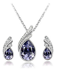 Women Party / Casual Alloy / Cubic Zirconia Necklace / Earrings Sets