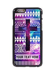 caso de telefone personalizado - caso design de metal cruz roxa para iphone 6 mais
