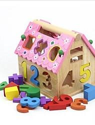 enfants wisdomhouse de bois blocs de construction
