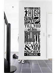 pegatinas de pared de etiquetas de la pared, modernas quote inspiración pegatinas de pared