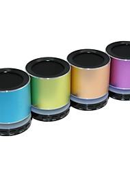 dogo® alto-falante Bluetooth v3.0 mini-portátil com mic / tf slot de / fm rádio / usb / rgb levou para iphone