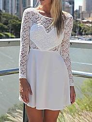 elegante abito manica lunga donna OSIM