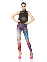 Women's Digital Printing The Milky Way Star Fashion Polyester Leggings
