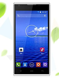 "VK 510 5.0 "" Android 4.4 Smartphone 3G (Due SIM Quad Core 8 MP 512MB + 4 GB Nero / Bianco)"