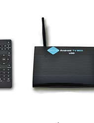 DITTER U30 Quad-Core Android 4.4.2 Google TV BOX Player with 1GB/DDR3 8GB/ROM,Smooth Running XBMC,Wi-Fi3.5db Antenna