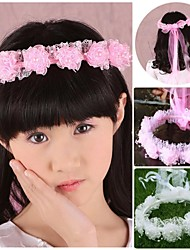 Flower Girl's Resin/Plastic Headpiece - Wedding/Special Occasion Wreaths