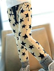 Pantalons Fille de Galaxie Coton Hiver / Printemps / Automne Noir / Beige