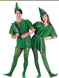 Peter Pan Green Apparel Unisex Halloween Costumefor Carnival