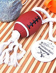 jouets en forme de football pour chiens de compagnie