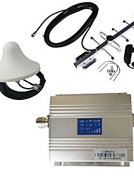 New LCD GSM 900MHz Cell Phone Signal Booster Amplifier + Antenna Kit