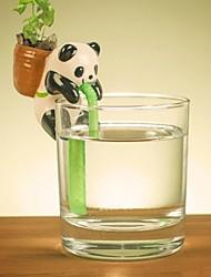 auto neje des planteurs de plantes animale arrosage - panda (basilic)