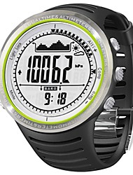 Sunroad 3ATM Digital EL Backlit w/Altimeter Barometer Compass World Time Stopwatch Sport Military Watch