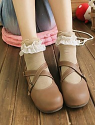 Women's Fashion Lovely Chiffon Lace Socks