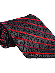 Black&Red Striped Tie