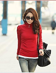 t-shirt a manica lunga nuova moda femminile