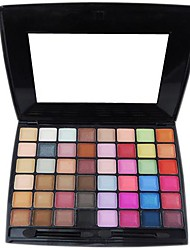 48 Eyeshadow Palette Dry / Matte / Shimmer / Mineral Eyeshadow palette Powder Normal Party Makeup / Smokey Makeup / Halloween Makeup