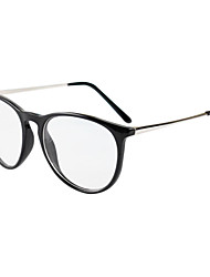 [Free Lenses] Metal Wayfarer Full-Rim Retro Prescription Eyeglasses