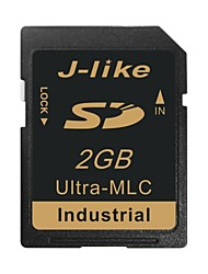 j-like® SDHC scheda di memoria SD da 2 GB ultra-MLC chip di tipo industriale