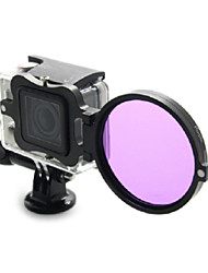 Professional 58mm Underwater Color-Correction Dive Filter Kit w/ Converter for GoPro Hero3+