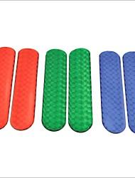 pegatinas epoxi reflectantes de seguridad del vehículo (coche de tamaño s / par)
