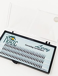 1 Eyelashes lash Eyelash Volumized Microfiber