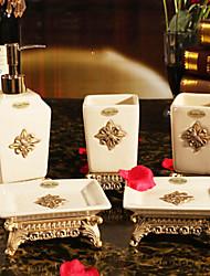 baño de juego de accesorios, de gama alta taza de baño contemporáneo Conjunto 5 piezas