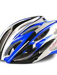 FJQXZ 23 Vents EPS+PC Blue Integrally-molded Cycling Helmet(58-63CM)