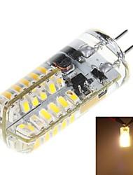 3W G4 LED a pannocchia T 48 SMD 3014 170 lm Bianco caldo DC 12 V