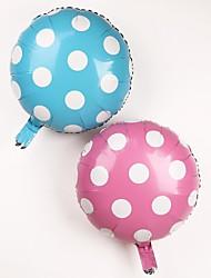 25 Pcs Polka Dot Mrtallic Balloon