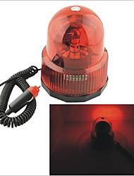 Carking™ 12V Car Vehicle Revolving light Warning light Caution Light with Magnetic Base-Red