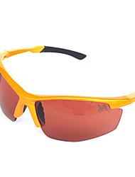Gafas de Sol hombres / mujeres / Unisex's Clásico / Deportes / Moda Rectángulo Naranja Gafas de Sol Media Montura