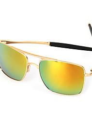 Sunglasses Men / Women / Unisex's Classic / Retro/Vintage / Sports / Polarized Flyer Black / Cream / Gold Sunglasses Full-Rim