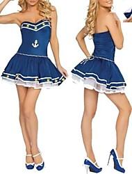 sexy menina legal marinheiro da marinha uniforme one size