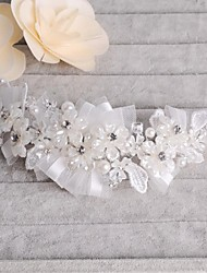 Mesh Flower Bridal Wedding Headpiece in Yarn Bags