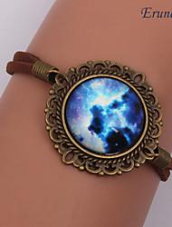 De eruner®handmade mode vrouwen mooie galaxy kosmische maan armbanden