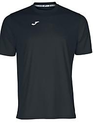 Joma exterior 100% de treinamento da equipe de intertravamento de poliéster roupa homens esporte ocasional t-shirt
