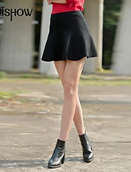Women's Red/Black/Gray Skirts , Sexy/Bodycon/Casual Mini