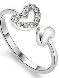 925 anéis de prata da forma das mulheres Aimei