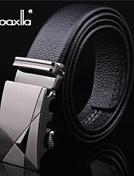 doaxila® mode haut la boucle de ceinture en cuir des hommes automatiquement