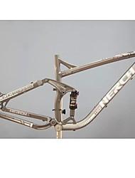 TW nerch XC-120 17 -17,5 в DH горный велосипед кадров при полном приостановлении 6061 алюминий с заднего амортизатора