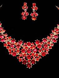Women's Jewelry Set Crystal/Rhinestone