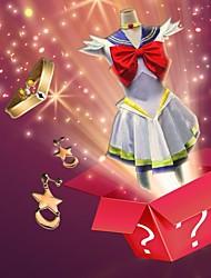 Sailor Moon Series Cosplay Costume + Accessory (Random Gifts)