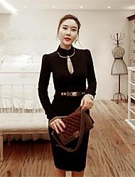vestidos top parada das mulheres blackless sexy