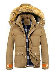 moda casaco de moletom com capuz de lã masculina Xiamen